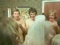 very very rare and classic video of nude wedding and groupsex