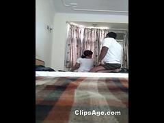 Tamil guy Adiyaman having foreplay with his secretary Tisha in his friends place scandal series