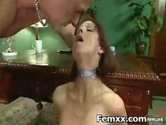 Hair Pulling With Punishment With Kinky Girl