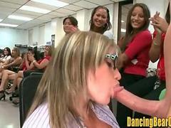 Real Office Stripper Party Blowbang