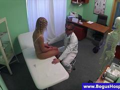 Fake doctor seducing patients