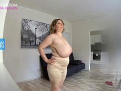 Slow motion big natural breasts 120fps