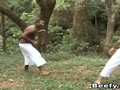 Black Gay Pounding Tight Ass In The Forest