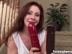 Catherine De Sade Fucks Her Holes With Large Toys