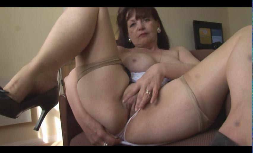 Usawives busty chubby mature solo masturbation 10