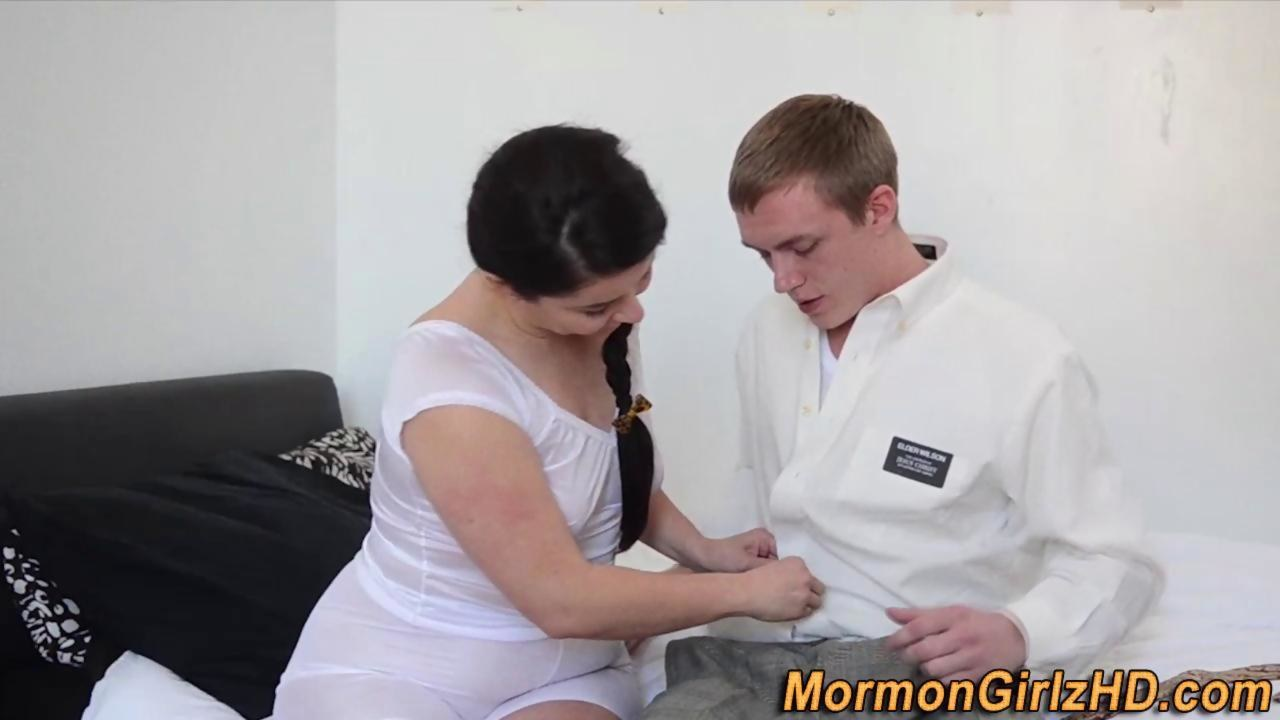 Mormon jizzed by elder - 2 part 7