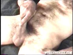Mature Amateur Richard Jacking Off