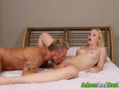Rammed cutie spunked over