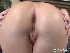 Blonde big ass porn star shows off and teases her pussy