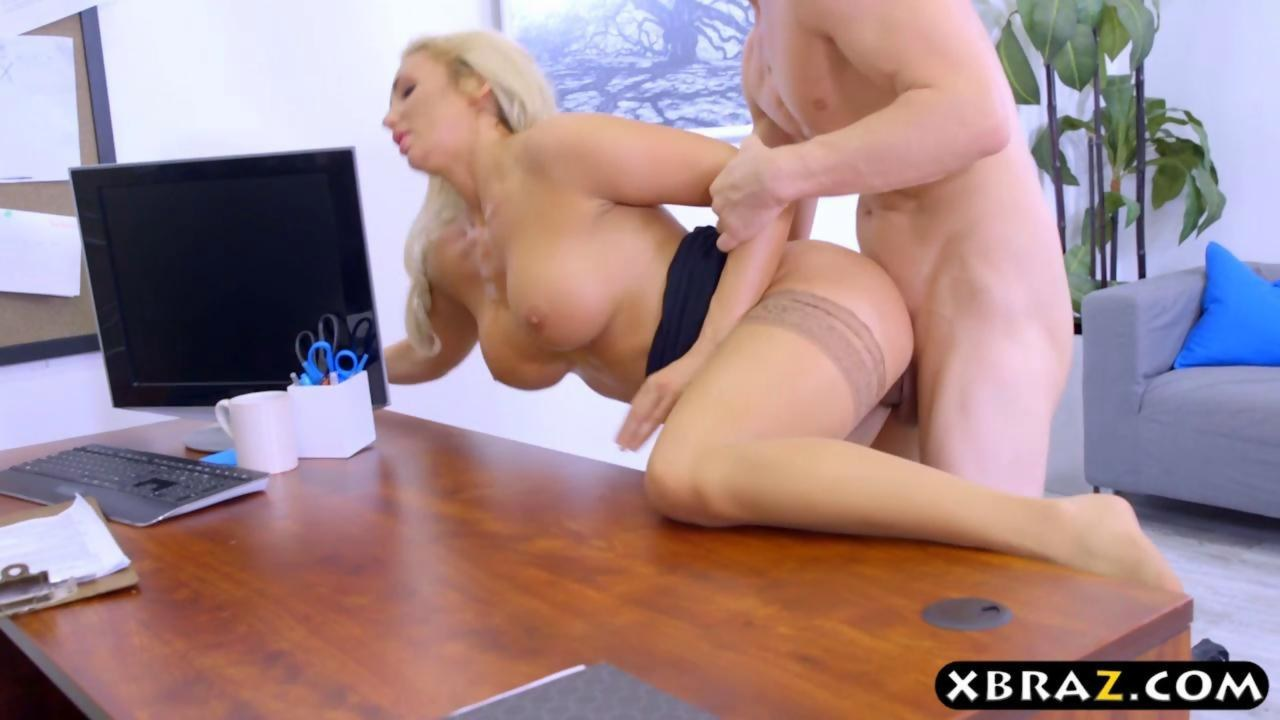 Bbw fat ass big tits office milf
