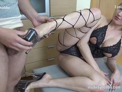 My Dirty Hobby - Lana-Giselle mit Fuessen gewixt