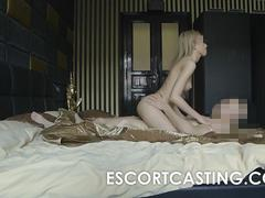 Skinny Russian Teen Escort Fucked In The Ass on Hidden Cam