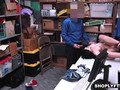 ShopLyfter - Hot Teen Stripped Down and Fucked By 2 Cocks