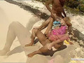 Private.com - Blonde Justine Ashley DPd Outdoor