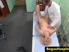 Anorexic patient blows doctor for his protein