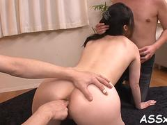 uncouth asian anal toying japanese clip 1