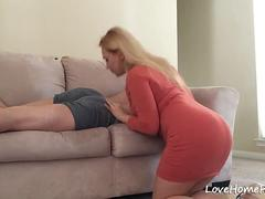 After My Wife Licked My Ass I Plowed Her Tight Snatch