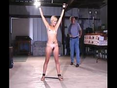 A compilation of hot girls being tied up and abused by dudes who are whipping them