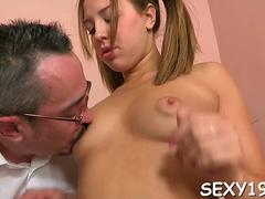 horny teacher devouring lass amateur segment 1