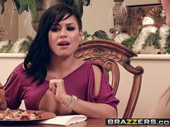 Brazzers - Hot And Mean - Eva Angelina Krissy Lynn and Luna Kitsuen