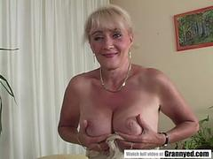 Busty mature lady and a BBC