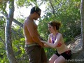 Red-Haired Babe Gets Plowed In Truck