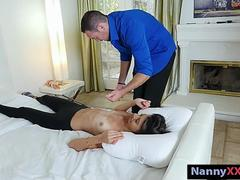 Lactating nanny Victoria Vargaz pounded in the bedroom