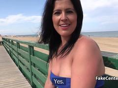 Cop anal fucked chubby milf outdoors