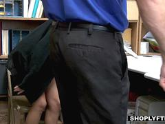 ShopLyfter - Teen Sucks Officer To Avoid Criminal Charges