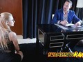 Submissive Secretary Alexa Grace Getting Fucked In Office And Sucking Dick