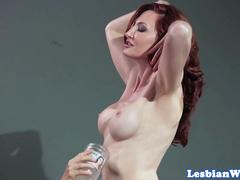 Lesbian group pussylicking and scissoring
