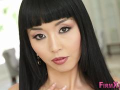 Asian cutie gets analized