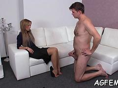 hard fuck makes female agent moan segment