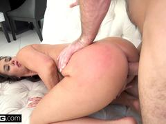 BANG Gonzo - Eva Lovia squirts and twerks on a thick cock