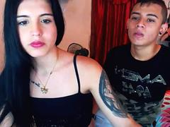 a young couple transgender trap and boyfriend blowjobs fun