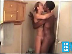 Black guy from the bar fucks wife while hubby films