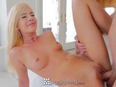 PASSION-HD Enthusiastic blonde skinny dip FUCKERY