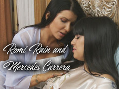 Mercedes Carrera and Romi Rain enjoy wild lesbian sex