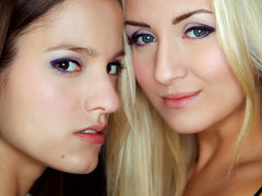 Passionate czech babes Cayla Lions and Silvie Luca