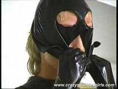 Crazy spandex girls dildoing beauty 2