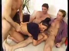 Laura Angel Maid Gangbang