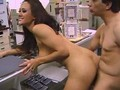 Asia Carrera gets banged on an office desk