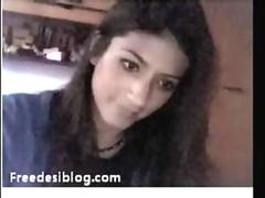 Cute Desi Indian Girl On Webcam