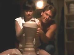 Demi moore hot nude sex scene from the movie Ghost