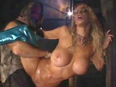 Janine and Jenna Fucked in the Rain