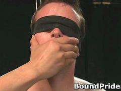 Extreme gay torture gay bondage action movie