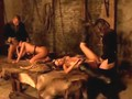 Medieval orgy with seriously hot babes