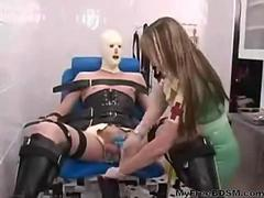 Mistress Miranda Cocks Ball Torture bdsm bondage slave femdom domination