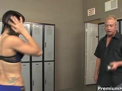 Kirra lynne punished with rock hard stick clip