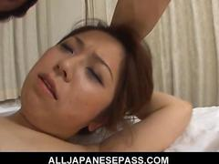 Chubby asian cougar bends over for a hard dicking feature